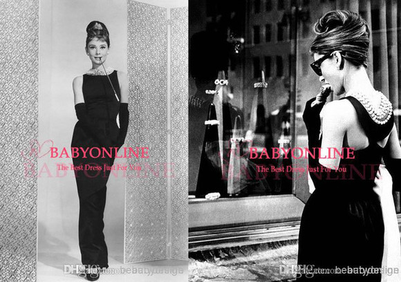 audrey hepburn dress 194922808 celebrity dresses evening gowns prom dress black dresses