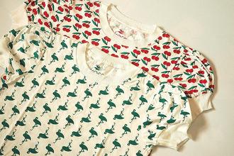 t-shirt women t shirts cute kawaii cherry flamingo