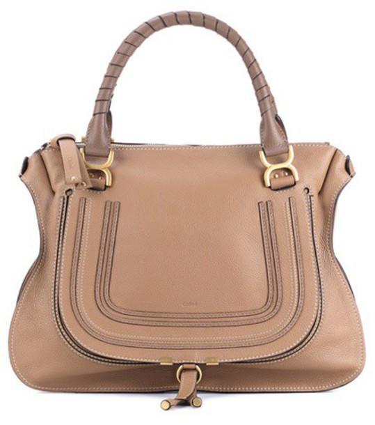 Chloe bag shoulder bag leather brown