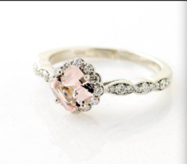 jewels vintage ring pink dimonds gold silver ring silver ring diamond ring diamonds vintage engagement ring pink tourmaline ring rings and tings wedding ring wedding accessories vintage jewelry beach wedding beach wedding dress jewelry rings rose gold rose gold ring gold ring gold wedding proposal