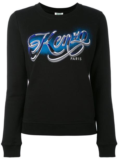 44702016ac33 Kenzo Kenzo - Kenzo Lyrics sweatshirt - women - Cotton - XS