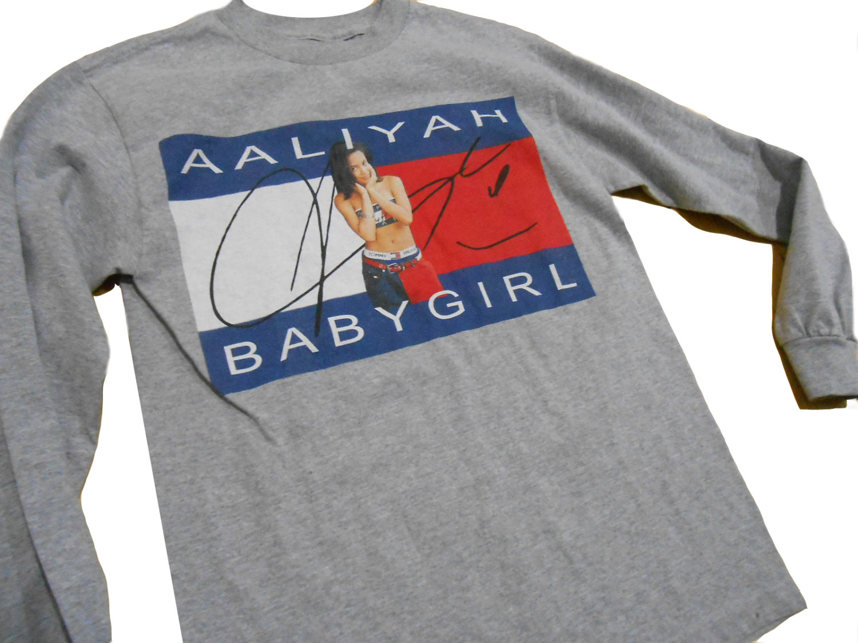 Aaliyah  Tommy  90s Hip Hop  Hip Hop Shirt  Hip Hop Clothing ae84ed1918b0