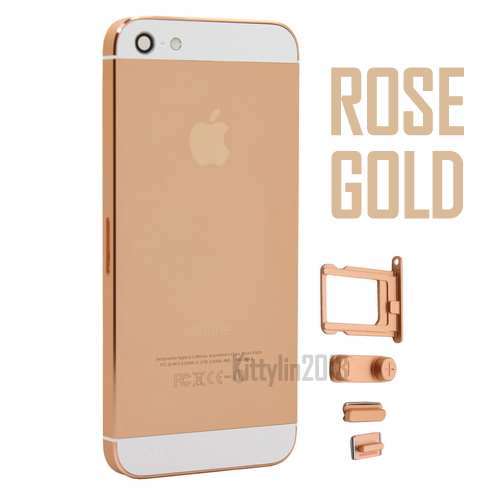 Iphone 5 Replacement Metal Back Battery Housing Cover Case Skin | eBay