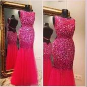 prom dress,long prom dress,backless dress,evening dress,graduation dresses,sexy dress,hot pink dress,sequin dress,mermaid prom dress,formal dress,wedding clothes,bridesmaid