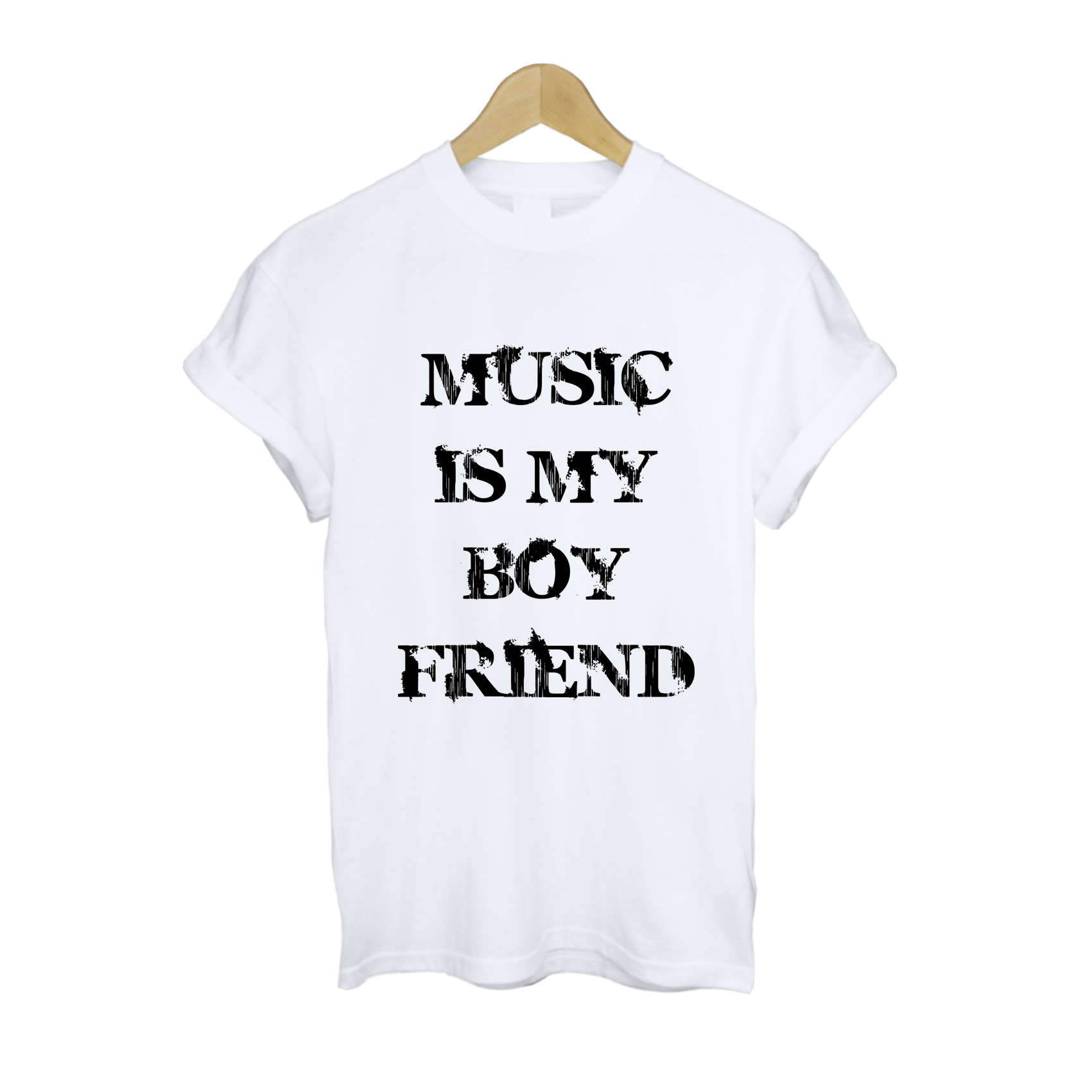 Music Is My BoyFriend T Shirt £11   Free UK Delivery   10% OFF