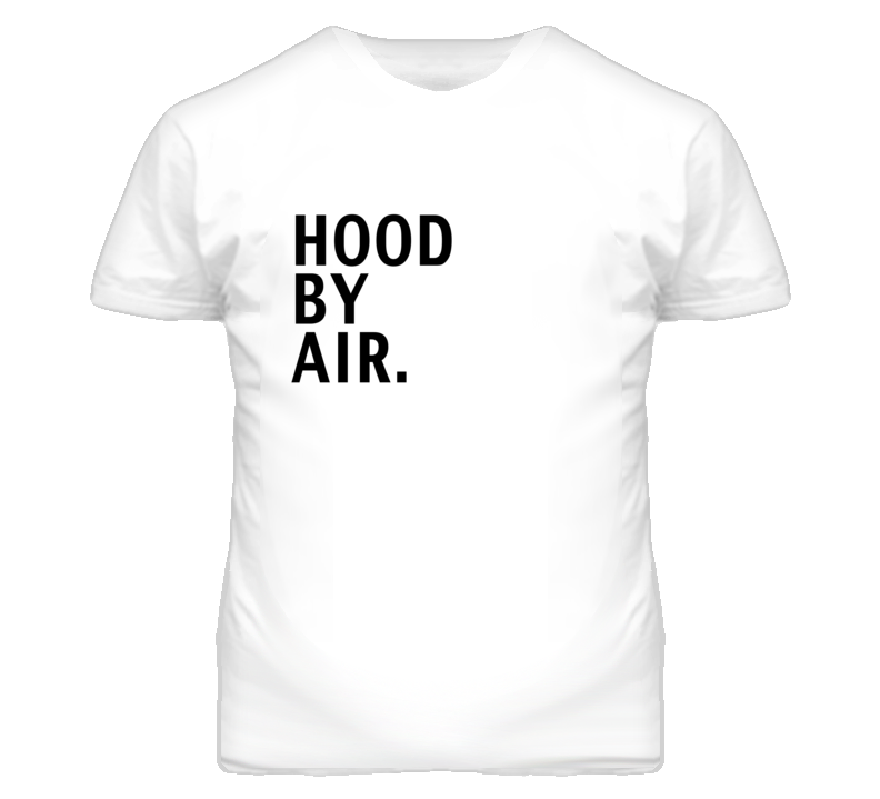 Hood By Air Rihanna Popular Graphic T Shirt