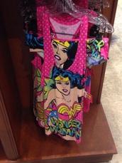 pajamas,wonder woman