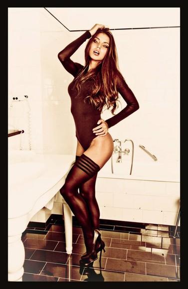 stockings sexy bodysuit