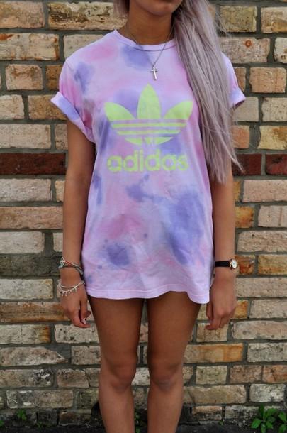 t-shirt shirt top dress adidas