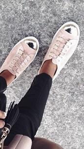 shoes,pretty,sneakers,metal