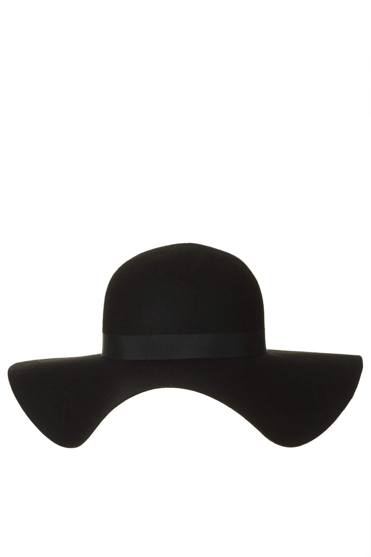 New big felt floppy hat