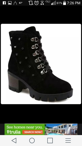 shoes black black boots boots studs studded shoes black studded combat boots combat boots goth goth shoes