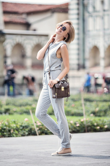 cablook t-shirt jumpsuit