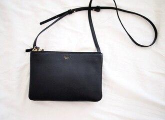bag leather celine vintage clutch