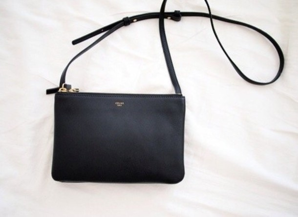 Bag: leather, celine, vintage, clutch - Wheretoget