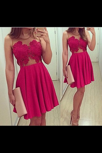 dress nude dress pink dress flower top red dress transparent dress