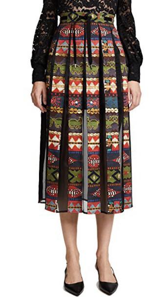 STELLA JEAN skirt pleated
