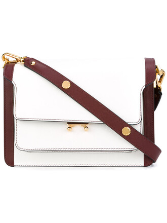 women bag shoulder bag leather white