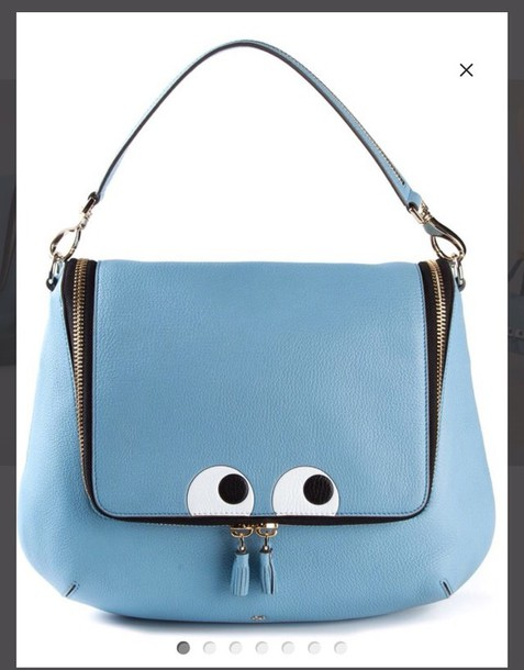 bag anya hindmarch eyes blue bag