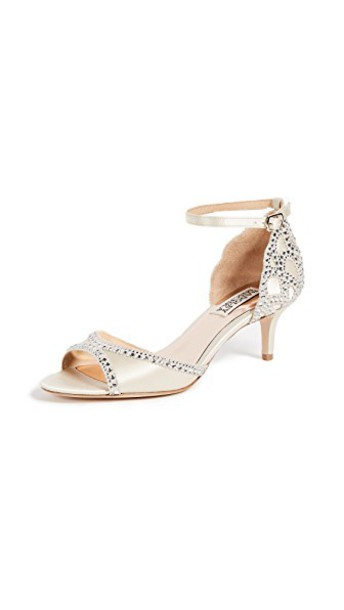 Badgley Mischka open sandals shoes