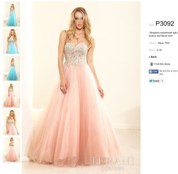 Cheap Stardress Beaded Ball Gown by Terani Couture Prom [Item ...