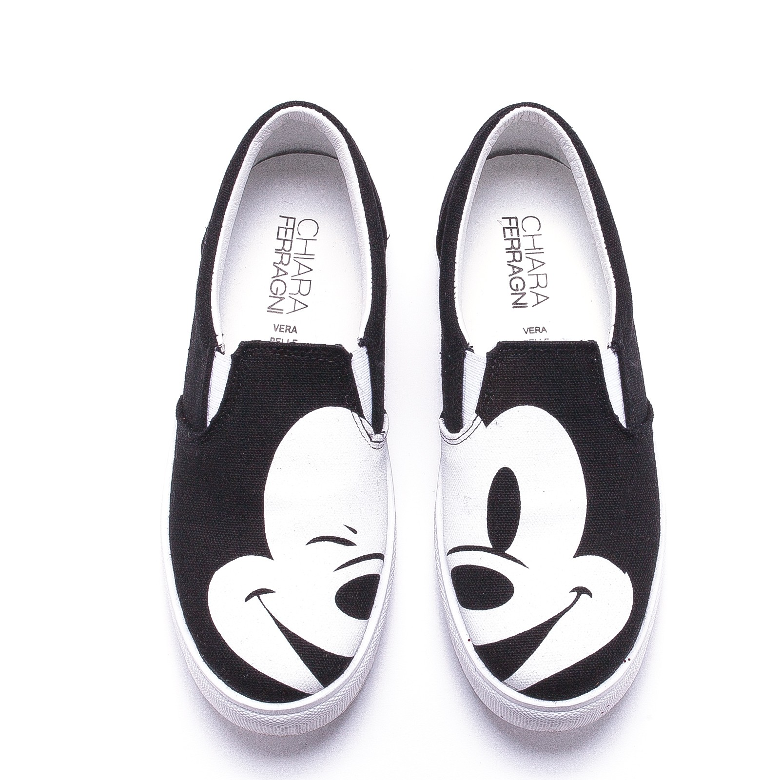 Mickey Mouse High Top Shoes