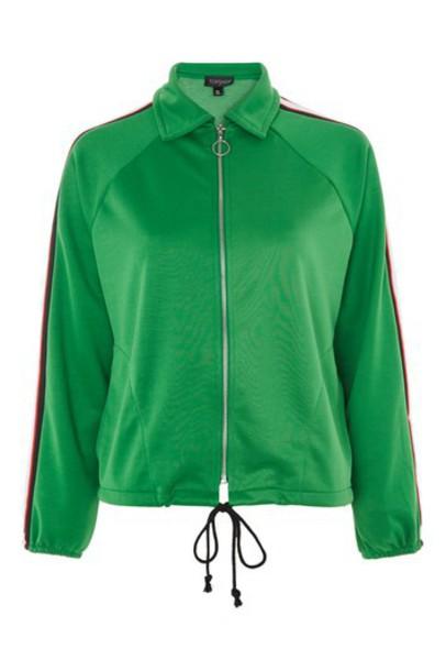 Topshop jacket green