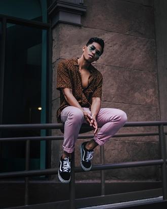 closet freaks blogger shirt shoes sunglasses menswear mens shirt mens pants
