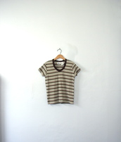 top,vintage top,vintage shirt,crop tops,stripes,vintage,vintage t-shirt,cropped,crop,striped top,striped shirt,90s style,etsy