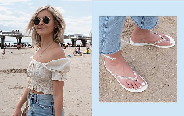 Women's BARRA Leather Back-Strap-Sandals