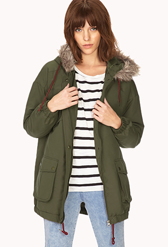 Must-Have Parka | FOREVER 21 - 2000110096