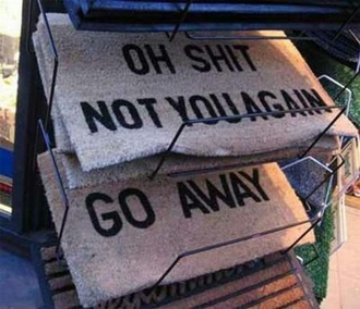 home accessory carpet not you again mat doormat