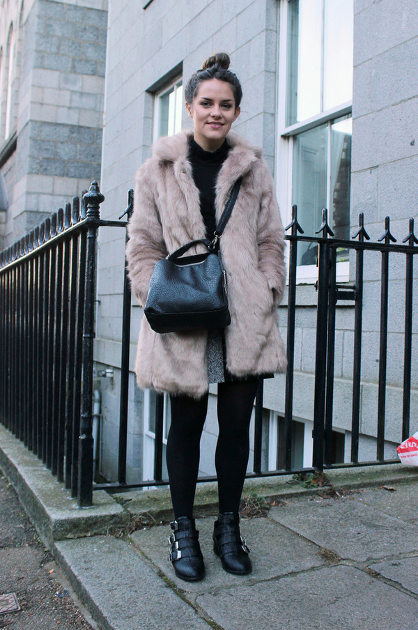 the little magpie coat skirt shoes