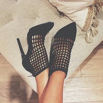 shoes black  high heels high heel sandals black black heels elegant