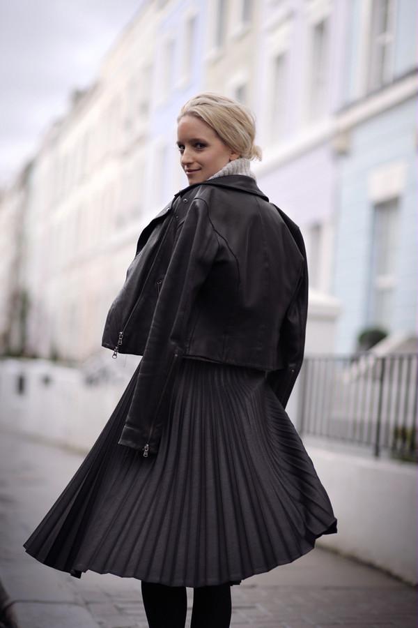 the fashion guitar skirt sweater jacket bag jewels