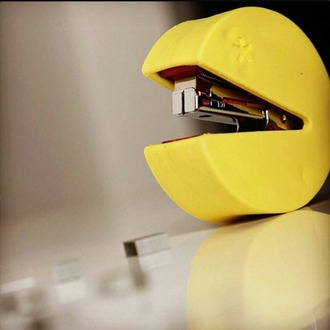 home accessory pacman stapless