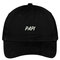 Papi embroidered dad hat adjustable cotton baseball cap - 5 colors! (txt465-san-cp77)