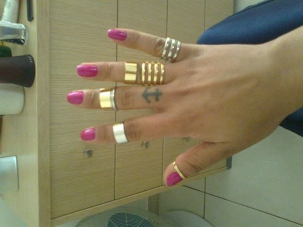 jewels ring tattoo