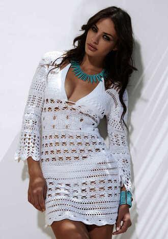 dress crochet dress white crochet white crochet dress white dress
