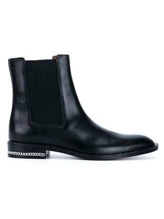 boots chelsea boots black shoes