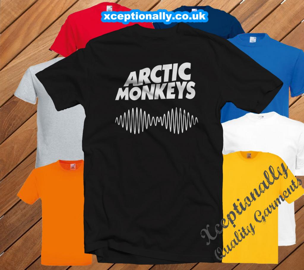 T SHIRT - ARCTIC MONKEYS FAN INSPIRED - TSHIRT UK BARGAIN MANY SIZES | eBay