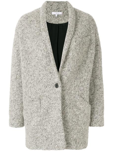 Iro coat women classic cotton grey