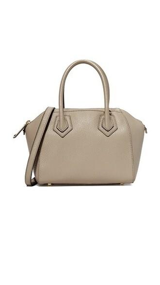 satchel khaki bag