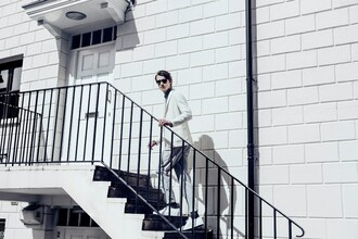 jacket giorgio armani menswear model luxury designer white off-white editorial mens suit armani groom wear blogger fashion blogger milan style milanstyle
