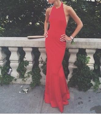dress red dress backless prom dress sleeveless dress red long prom dress backless sleeveless