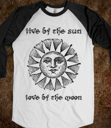 Live By The Sun, Love By The Moon - Ella's Isabella - Skreened T-shirts, Organic Shirts, Hoodies, Kids Tees, Baby One-Pieces and Tote Bags Custom T-Shirts, Organic Shirts, Hoodies, Novelty Gifts, Kids Apparel, Baby One-Pieces | Skreened - Ethical Custom Apparel