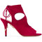 Aquazzura - sexy thing sandals - women - leather/suede - 40, red, leather/suede