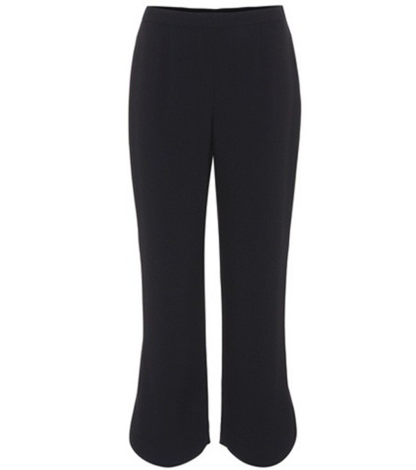 Prada Crêpe trousers in black