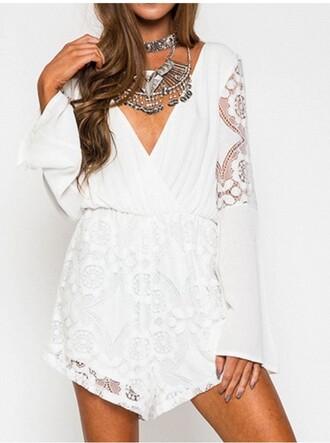 romper girly girl girly wishlist white lace
