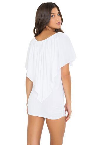 dress luli fama white bikiniluxe